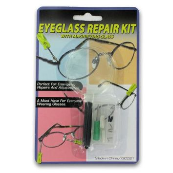 Eyeglass Repair Kit with Magnifying Glass ( Case of 24 )