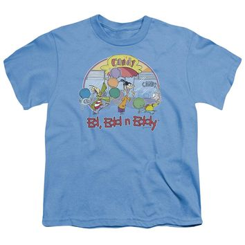 Ed Edd Eddy - Jawbreakers Short Sleeve Youth 18/1