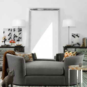 Riley Double Tub Chaise - Cut To The Chaise - Living Room - Room Ideas