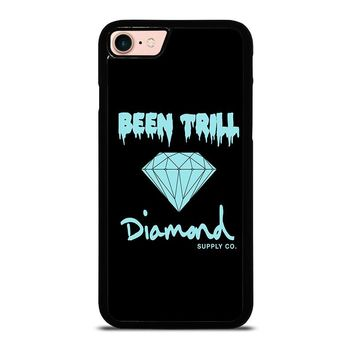 BEEN TRILL DIAMOND BLACK iPhone 8 Case Cover