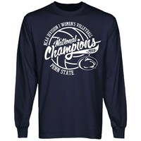 Penn State Nittany Lions 2013 NCAA Division I Women's Volleyball National Champions Long Sleeve T-Shirt - Navy Blue