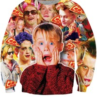 Macaulay Culkin Pizza Party Monster Sweatshirt