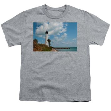 Cape Florida Lighthouse - Youth T-Shirt