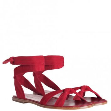 Loop Knot Ankle Tie Sandal - COMING SOON - The Latest