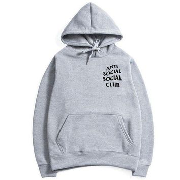 ICIK8H2 Anti Social Social Club ASSC hoodies sweater Gray