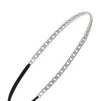 FOREVER 21 Textured Curb Chain Headband