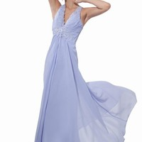 Dressystar Long Prom Dresses Chiffon Evening Gown Formal for Women