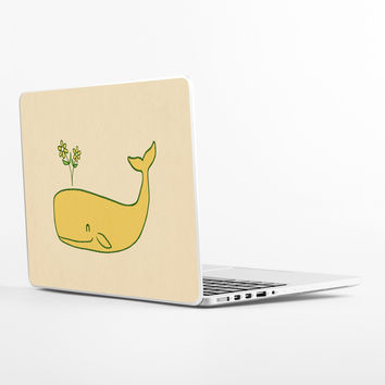Peace Whale Laptop Skin