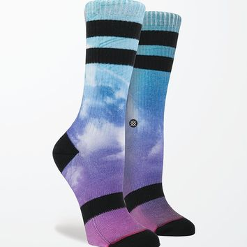 Stance Le Funkalicious Tie-Dye Tomboy Socks - Womens Scarves - Multi - One
