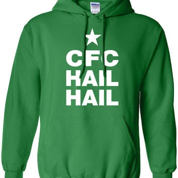 Glasgow Celtic football club hail hail 1888 pride scotland graphic united kingdom hoodie hooded sweatshirt Mens Ladies kid soccer ML-150