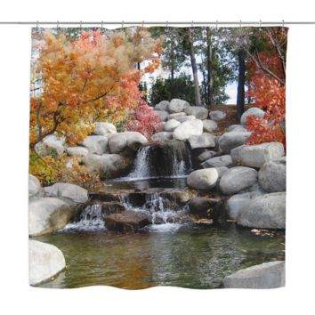 Beautiful Nature Shower Curtain