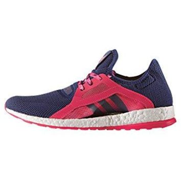 Adidas Womens Pure Boost X Running Shoe By Stella McCartney (Dark Blue)