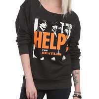 The Beatles Help!  Girls Pullover Sweatshirt | Hot Topic