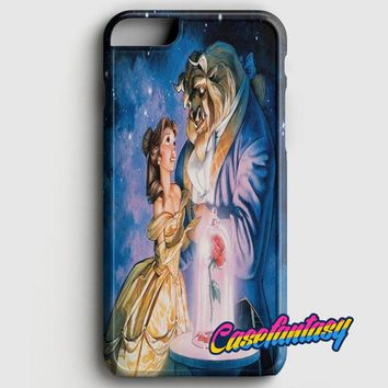 Beauty And The Beast Glass iPhone 8 Case | casefantasy