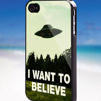 I Want To Believe X-Files - For iPhone, Samsung Galaxy, and iPod. Please choose the option