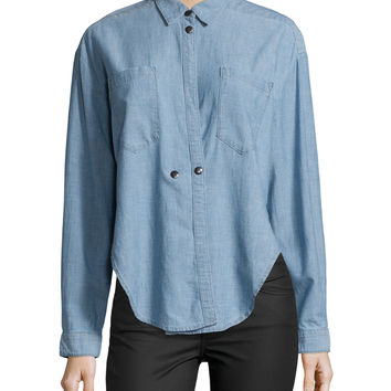 Hideaway Chambray Shirt, Getty, Size: