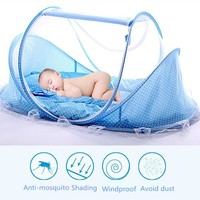 Portable Fordable Baby Crib With Sleep Bed Travel
