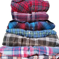 FLASH SALE - Mystery Vintage/Vintage Inspried Oversized Flannel shirts, All Sizes & Colors