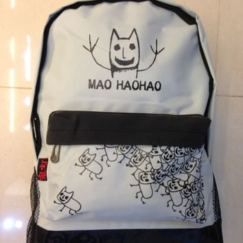 Stylish Hot Deal On Sale Back To School College Comfort Casual Lights Cats Backpack [4918757892]