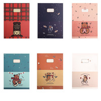 Monopoly Toffeenut lined and grid school notebook large ver.2