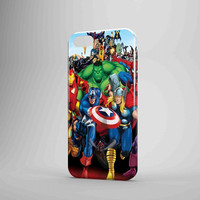Marvel Heroes Comic Poster iPhone Case Samsung Galaxy Case US 3D