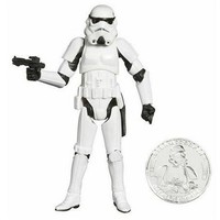 Star Wars 30th Anniversary Stormtrooper Action Figure #20 with Coin