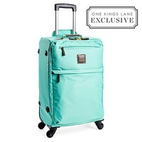 "One Kings Lane - Luggage We Love - 25"" X-Bag Trolley, Mint"