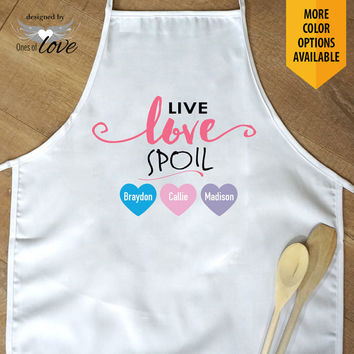 Apron for Mom | Mother's Day Gift | Kitchen Apron | Cooking Apron | Baking Apron | Adult Apron | Personalized Apron | Chef's Apron