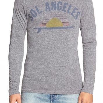 Men's Sol Angeles 'Single Fin' Graphic Long Sleeve T-Shirt,