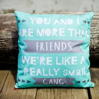 Really Small Gang Pillow Cover