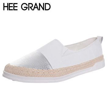 hee grand glitter loafers 2017 summer slip on flats fisherman shoes woman casual sprin  number 1