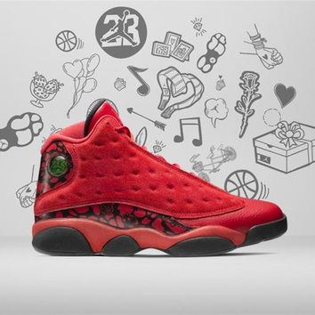 "Whosale Online Air Jordan 13 ""What Is Love"" Men Sneaker"
