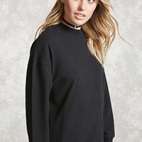 Contemporary High-Low Hem Top