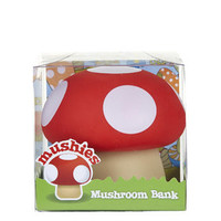 Mushroom Money Bank - Red