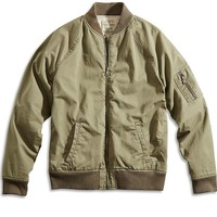 Lucky Brand Divisional Bomber Jacket Mens - Moss