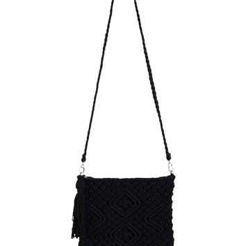 Senna Crocheted Shoulder Bag