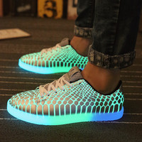 Light Up Shoes For Adults Casual Men Shoes