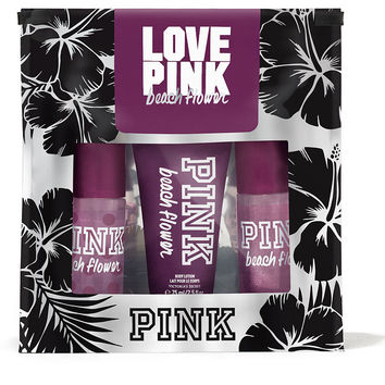 Beach Flower Mini Gift Set - PINK - Victoria's Secret