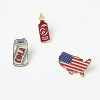 LA Hearts Make America Great Pin Set at PacSun.com