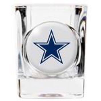 Personalized NFL Shot Glass - Cowboys