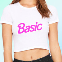 Basic Barbie Crop Top