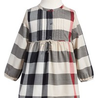 Burberry 'Emalie' Check Cotton Flannel Dress (Toddler Girls) | Nordstrom