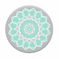 Peace Mandala Tiffany - Universal Pop Up Phone Holder Expanding Stand Grip Mount Socket For Phone or Tablet