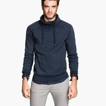 H&M Chimney-collar Sweatshirt $34.95