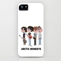 Arctic Monkeys (Band) iPhone & iPod Case by Kaili Wu