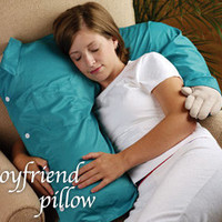 Deluxe Comfort P009 Boyfriend Pillow With A Pillow In Shining Armor, Blue