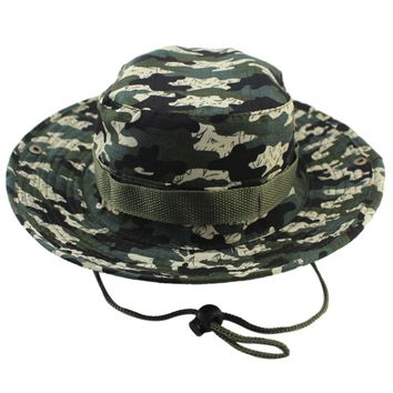 Bucket Hats Fishing Fisherman Hunting Men Adult Safari Protection From The Sun Mountains Hunter Cap Military Camouflage