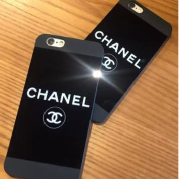 CHANEL  mirror phone case shell for iphone5/5s, iphone 6/6s,iphone 6p/ 6splus,iphone 7, iphone7plus