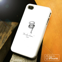 Alice In Wonderland Quote'S iPhone 4(S),5(S),5C,SE,6(S),6(S) Plus Case