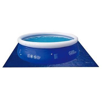 """10.25"""" Jumbo Easy-Read Transparent Blue Swimming Pool Thermometer with Cord"""